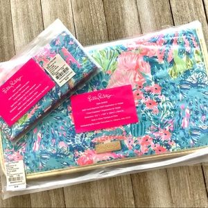 New Lilly Pulitzer Travel Organizer and Card Case